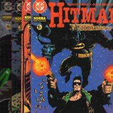 Comics: HITMAN FURIA EN ARKHAM COMPLETA 4 TOMOS - NORMA - MUY BUEN ESTADO. Lote 287641133