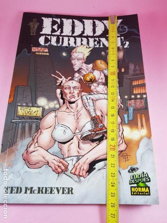 Cómics: COMIC-EDDY CURRENT2-TED MCKEEVER-EL DÍA DESPUÉS-NORMA EDITORIAL-2006-EXCELENTE-COLECCIONISTAS - Foto 17 - 287783198