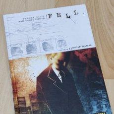 Cómics: FELL. VOLUMEN 1 CIUDAD SALVAJE DE WARREN ELLIS Y BEN TEMPLESMITH .NORMA EDITORIAL 2008. Lote 287912553