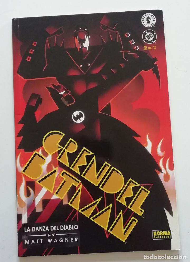 BATMAN GRENDEL Nº 2 DE 2.MATT WAGNER. NORMA EDITORIAL (Tebeos y Comics - Norma - Comic USA)