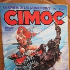 Cómics: CIMOC Nº 31 - NORMA COMIC PARA ADULTOS - SEPTIEMBRE 1983.. Lote 287991768