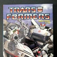 Cómics: TRANSFORMERS - INFILTRACIÓN (E.J. SU - SIMON FURMAN) NORMA 2009 ''MUY BUEN ESTADO''. Lote 288030498