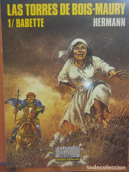 LAS TORRES DE BOIS MAURY. 1/ BABETTE. HERMANN. COLECCION CIMOC Nº 79. NORMA EDITORIAL (Tebeos y Comics - Norma - Cimoc)