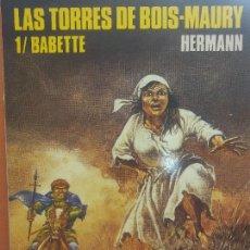 Cómics: LAS TORRES DE BOIS MAURY. 1/ BABETTE. HERMANN. COLECCION CIMOC Nº 79. NORMA EDITORIAL. Lote 288031323