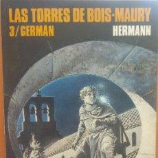 Cómics: LAS TORRES DE BOIS MAURY. 3/ GERMÁN. HERMANN. COLECCIÓN CIMOC Nº 79. NORMA EDITORIAL. Lote 288031423