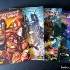 Cómics: TRANSFORMERS - SPOTLIGHT (1 AL 4 - COMPLETA) FURMAN, ROCHE, RUFFOLO - NORMA 2009 ''MUY BUEN ESTADO''. Lote 288033653
