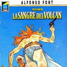 Cómics: COMIC COLECCION PANDORA ALFONSO FONT ROHNER LA SANGRE DEL VOLCAN. Lote 288054143