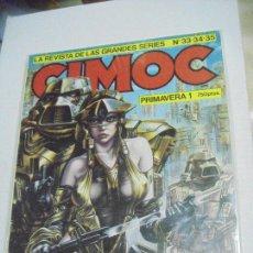 Cómics: CIMOC Nº 33 AL 35 - PRIMAVERA 1 - ED. NORMA. Lote 288218368