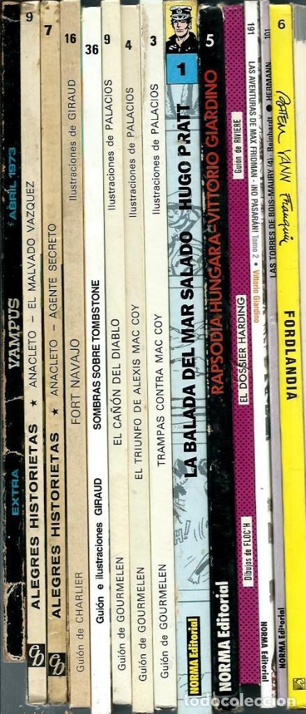 Cómics: GIARDINO - MAX FRIDMAN - RAPSODIA HUNGARA - NORMA 1984 1ª EDICION - COL. ALBUMES DE CAIRO Nº 5 - Foto 2 - 288361288