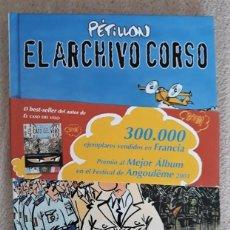 Cómics: EL ARCHIVO CORSO - PÉTILLON. Lote 288540813
