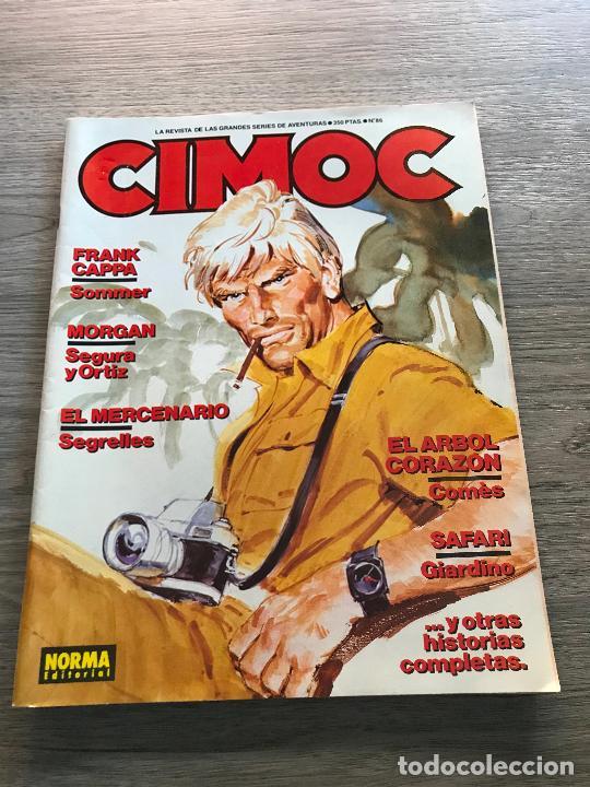 CIMOC Nº 86, EDITORIAL NORMA (Tebeos y Comics - Norma - Cimoc)