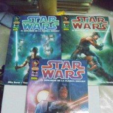 Cómics: STAR WARS: EL RESURGIR DE LA FUERZA Nº 1 AL 3 - ED. NORMA- COMPLETA!. Lote 288549683