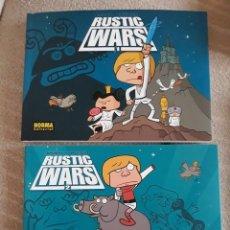 Cómics: RUSTIC WARS 2 TOMOS - NORMA EDITORIAL. Lote 288553053