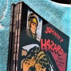 Cómics: JOHNNY HAZARD FRANK ROBBINS. COMPLETA PARTE DE COLECCIÓN GENÉRICA 5 TOMOS. NORMA.. Lote 288658958