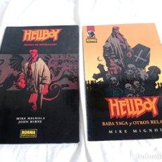 Cómics: 2 COMICS DE HELLBOY, MIKE MIGNOLA. Lote 288677883