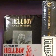 Cómics: LOTE HELLBOY INTEGRAL DE LUJO 3 Y 4. Lote 288726258