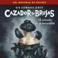 Cómics: CÓMICS. CAZADOR DE BRUJAS 6. EL REINADO DE LA OSCURIDAD - MIGNOLA / ROBERSON / MITTEN / MADSEN. Lote 288920543