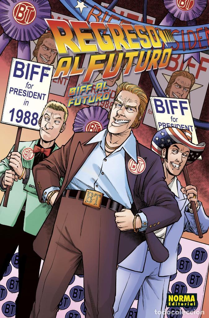 CÓMICS. REGRESO AL FUTURO 8. BIFF AL FUTURO - GALE / FRIDOLFS / ROBINSON / CASTRO (CARTONÉ) (Tebeos y Comics - Norma - Comic USA)