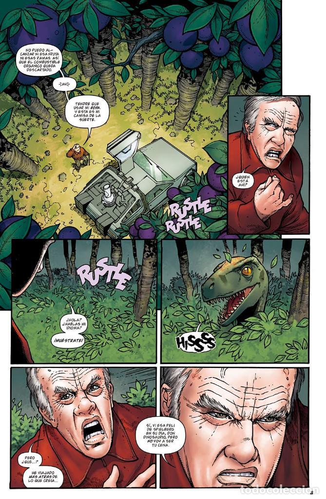 Cómics: Cómics. REGRESO AL FUTURO 8. BIFF AL FUTURO - Gale / Fridolfs / Robinson / Castro (Cartoné) - Foto 4 - 288921518