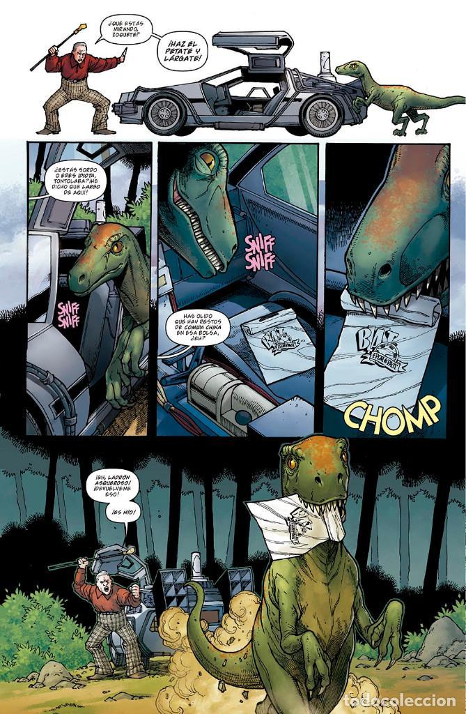 Cómics: Cómics. REGRESO AL FUTURO 8. BIFF AL FUTURO - Gale / Fridolfs / Robinson / Castro (Cartoné) - Foto 5 - 288921518