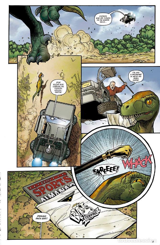 Cómics: Cómics. REGRESO AL FUTURO 8. BIFF AL FUTURO - Gale / Fridolfs / Robinson / Castro (Cartoné) - Foto 6 - 288921518