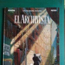 Cómics: EL ARCHIVISTA. LAS CIUDADES OSCURAS - SCHUITEN / PEETERS. Lote 288958193