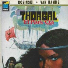 Cómics: THORGAL. EL PAÍS QA. ROSINSKI - VAN HAMME.. Lote 289001343
