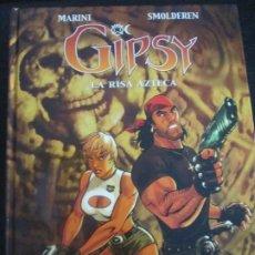 Cómics: GIPSY--LA RISA AZTECA--MARINI--SMOLDEREN. Lote 289255848