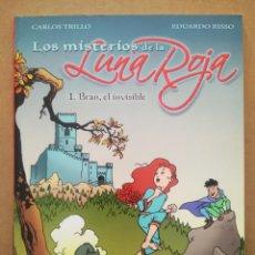 Cómics: LOS MISTERIOS DE LA LUNA ROJA N°1: BRAN EL INVISIBLE, POR CARLOS TRILLO Y EDUARDO ROSSO (NORMA).. Lote 289287688
