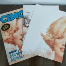 Cómics: CIMOC ESPECIAL Nº 7 - MARILYN MONROE , INCLUYE LOS DOS POSTERS PEPE GONZALEZ - NORMA 1987 PERFECTO. Lote 289302383
