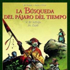 Cómics: LA BUSQUEDA DEL PAJARO DEL TIEMPO 9-10 EL INFLUJO / KRYLL. Lote 289332913