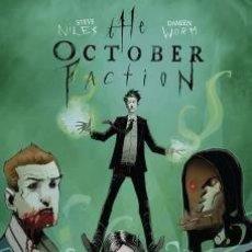 Cómics: THE OCTOBER FACTION 5 SUEÑOS SOBRENATURALES. Lote 289337893