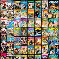 Cómics: CIMOC (LOTE DE 65). Lote 289581508