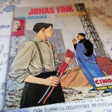 Cómics: JONAS FINK 2/LA ADOLESCENCIA COLECCIÓN CIMOC. NORMA EDITORIAL. Lote 289840793
