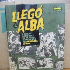 Cómics: LLEGO EL ALBA - HISTORIAS DE TERROR WALLACE WOOD - CREEPY - TOMO TAPA DURA - NORMA EDITORIAL. Lote 289863928