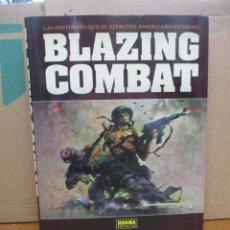Cómics: BLAZING COMBAT - HISTORIAS EJERCITO AMERICANO CENSURADAS - TOMO TAPA DURA - NORMA EDITORIAL. Lote 289866988