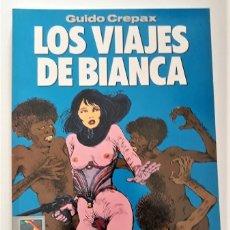 Cómics: LOS VIAJES DE BIANCA - GUIDO CREPAX. Lote 289874193