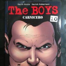 Cómics: THE BOYS N.CARNICERO DE GARTH ENNIS ( 2007/2013 ). Lote 289875973