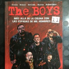 Cómics: THE BOYS N.11 MÁS ALLÁ DE LA COLINA CON LAS ESPADAS DE MIL HOMBRES DE GARTH ENNIS ( 2007/2013 ). Lote 289877583