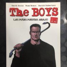Cómics: THE BOYS N.12 LAS PUTAS PUERTAS ABAJO DE GARTH ENNIS ( 2007/2013 ). Lote 289878068
