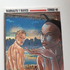 Cómics: CONGO 40 - WARNAUTS Y RAIVES. Lote 289878223