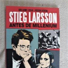 Cómics: STIEG LARSSON: ANTES DE MILLENIUM. ANATOMÍA DE UNA OBRA - LEBEAU / RÉBÉNA. Lote 290035998