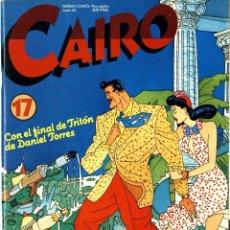 Cómics: CAIRO-17 (NORMA, 1983) PORTADA DE DANIEL TORRES. Lote 290292398
