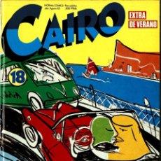 Cómics: CAIRO-18 (NORMA, 1983) EXTRA DE VERANO. PORTADA DE MARISCAL. Lote 290292493