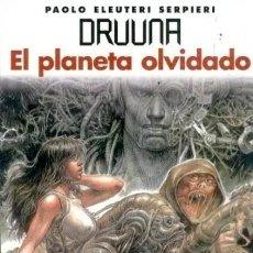 Cómics: DRUUNA Nº 7 EL PLANETA OLVIDADO (PAOLO ELEUTERI SERPIERI) NORMA - IMPECABLE - SUB01M. Lote 292416508