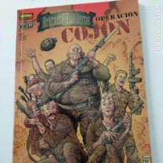 Fumetti: N°.213 VERTIGO. LAS AVENTURAS DE LA BRIGADA DE FUSILEROS: OPERACIÓN COJÓN. ENNIS, EZQUERRA.. Lote 293197368