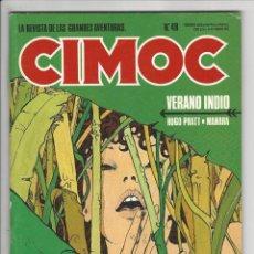 Cómics: NORMA. CIMOC. 48. Lote 293750283