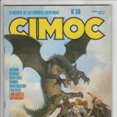 Cómics: NORMA. CIMOC. 58. Lote 293750293