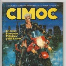 Cómics: NORMA. CIMOC. 73. Lote 293750308