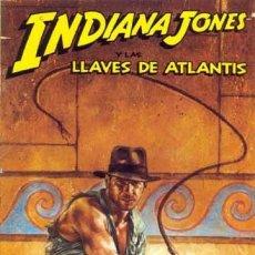 Fumetti: INDIANA JONES. LAS LLAVES DE ATLANTIS. SERIE COMPLETA: 4 NUMEROS. NORMA. Lote 293827678